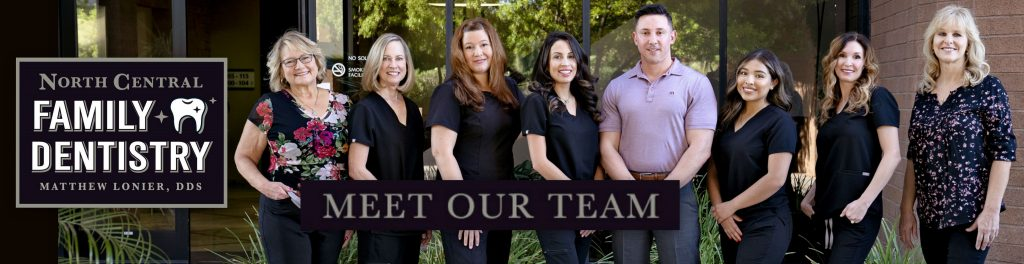 Group Picture of North Central Phoenix Dental Office
